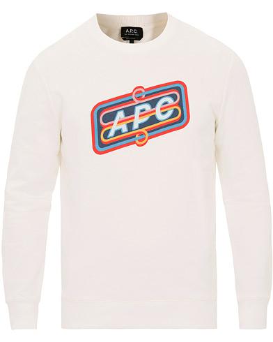 A.P.C Psy Sweat Blanc i gruppen Klær / Gensere / Sweatshirts hos Care of Carl (14970511r)