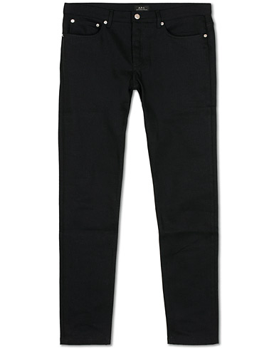 A.P.C Petit New Standard Stretch Jeans Black i gruppen Klær / Jeans / Smale jeans hos Care of Carl (14974811r)