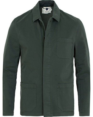 NN07 Oscar Blazer Dark Green i gruppen Tøj / Skjorter / Overshirts hos Care of Carl (14990811r)