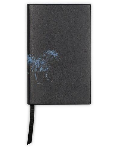 Smythson Panama Notebook Archive Animals Bulldog Navy  i gruppen Accessoarer / Pennor & anteckningsböcker hos Care of Carl (15006210)