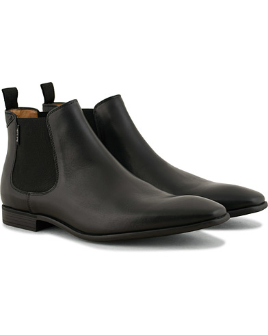 PS By Paul Smith Falconer Chelsea Boot Black Calf i gruppen Skor / Kängor / Chelsea boots hos Care of Carl (15018711r)