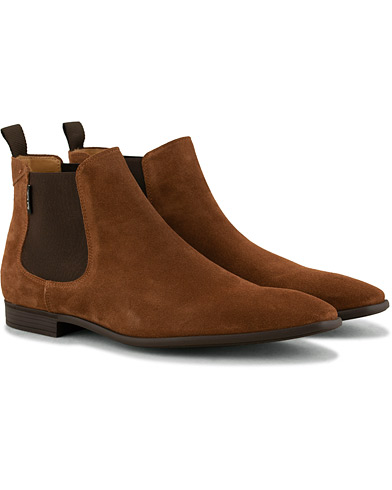 PS By Paul Smith Falconer Chelsea Boot Brown Suede i gruppen Sko / Støvler / Chelsea boots hos Care of Carl (15018811r)