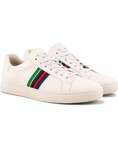 PS By Paul Smith Lapin Leather Sneaker White i gruppen Sko / Sneakers / Sneakers med lavt skaft hos Care of Carl (15019211r)
