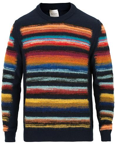 Paul Smith Knitted Sweater Multistripe i gruppen Klær / Gensere / Strikkede gensere hos Care of Carl (15025611r)