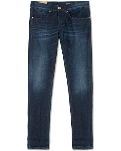 Dondup George Jeans Dark Blue i gruppen Klær / Jeans / Smale jeans hos Care of Carl (15045811r)