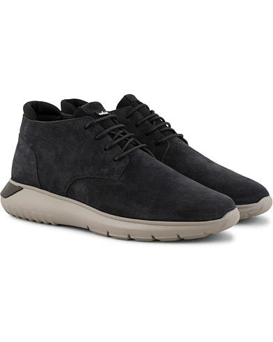 Hogan Polacco High Sneaker  Dark Blue Suede i gruppen Sko / Sneakers hos Care of Carl (15047211r)