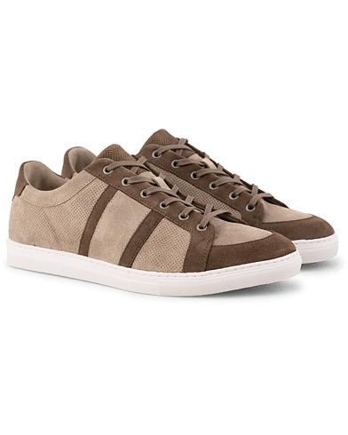 Morris Chas Suede Sneaker Beige i gruppen Skor / Sneakers / Låga sneakers hos Care of Carl (15054511r)