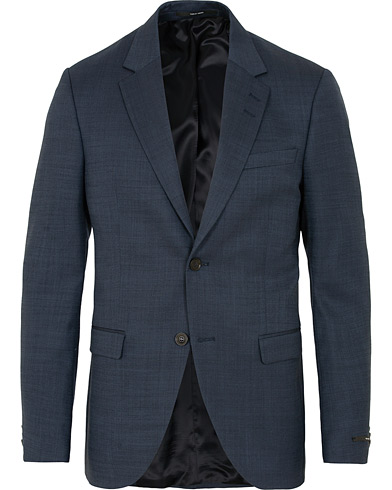 Tiger of Sweden Jamonte Wool Blazer Blue i gruppen Klær / Dressjakker / Enkeltspente dressjakker hos Care of Carl (15079211r)