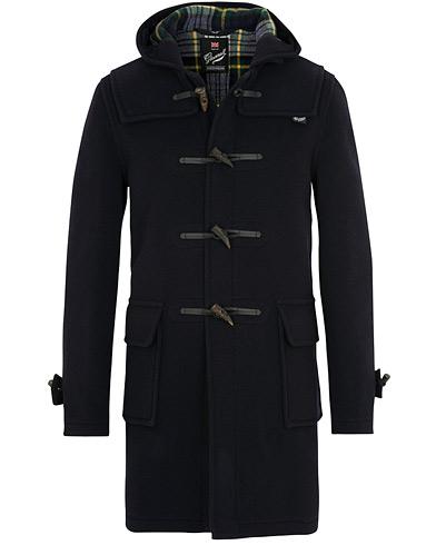 Gloverall Morris Duffle Coat Navy/Dress Gordon i gruppen Klær / Jakker / Duffel hos Care of Carl (15098011r)