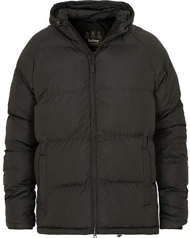 Barbour International Derny Fiber Down Quilt Jacket Black i gruppen Klær / Jakker / Dunjakker hos Care of Carl (15099411r)