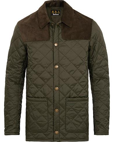 Barbour Lifestyle Gillock Quilt Jacket Sage i gruppen Klær / Jakker / Quiltede jakker hos Care of Carl (15100311r)