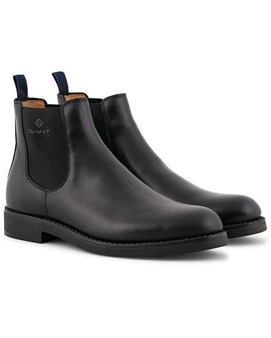 GANT Oscar Chelsea Boot Black Calf i gruppen Skor / Kängor / Chelsea boots hos Care of Carl (15104011r)