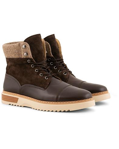GANT Jean Boot Espresso i gruppen Sko / Støvler / Snørestøvler hos Care of Carl (15105311r)