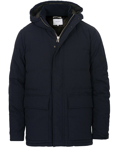 Norse Projects Willum Down Jacket Dark Navy i gruppen Kläder / Jackor / Vadderade jackor hos Care of Carl (15106511r)