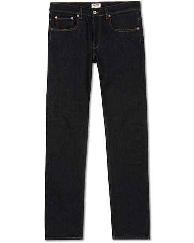 C.O.F. Studio M1 Slim Fit Jeans Rinsed Blue i gruppen Klær / Jeans / Smale jeans hos Care of Carl (15131311r)