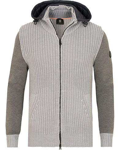 Bogner Quinn Hybrid Wool Jacket Grey i gruppen Tøj / Trøjer / Zip-trøjer hos Care of Carl (15132911r)