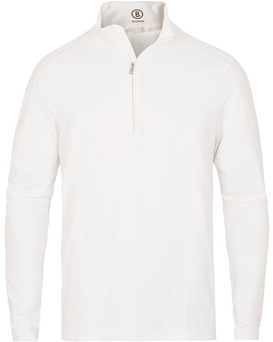 Bogner Harrison Tech Half Zip Sweater White i gruppen Kläder / Tröjor / Zip-tröjor hos Care of Carl (15134011r)