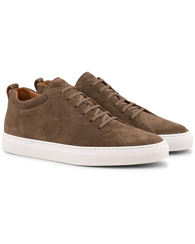 C.QP Tarmac Sneaker Chocolate Suede i gruppen Sko / Sneakers / Sneakers med lavt skaft hos Care of Carl (15140811r)