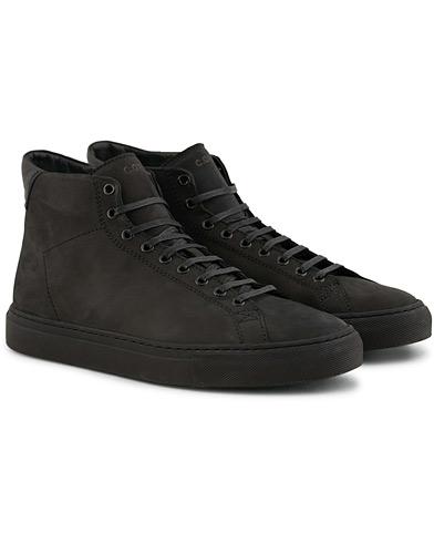 C.QP Flyback High Sneaker Black Nubuck i gruppen Skor / Sneakers / Höga sneakers hos Care of Carl (15140911r)
