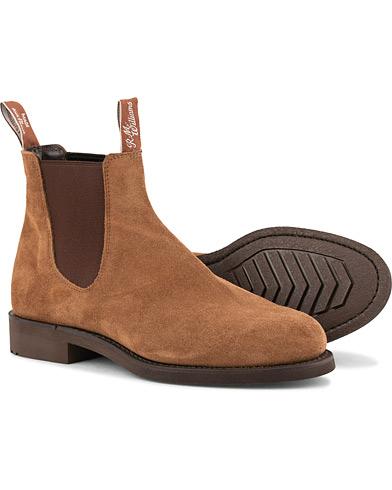 R.M.Williams Gardener G Boot Saddle Brown Suede i gruppen Sko / Støvler / Chelsea boots hos Care of Carl (15141211r)