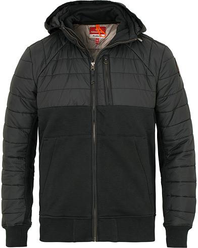 Parajumpers Gordon Hooded Fleece Jacket Black i gruppen Tøj / Jakker / Tynde jakker hos Care of Carl (15142611r)