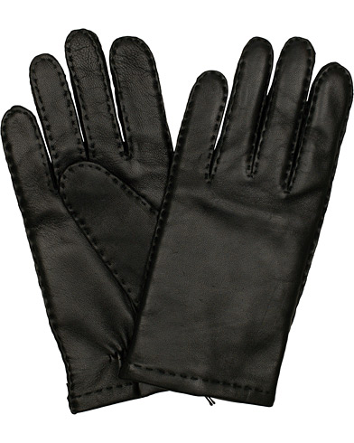 BOSS Kranton Leather Gloves Black i gruppen Tilbehør / Handsker hos Care of Carl (15146411r)