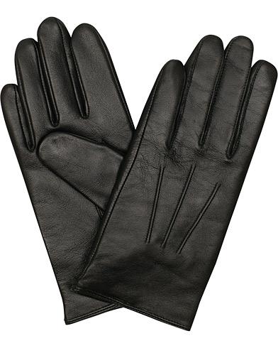 BOSS Hainz Leather Gloves Black i gruppen Tilbehør / Handsker hos Care of Carl (15146511r)
