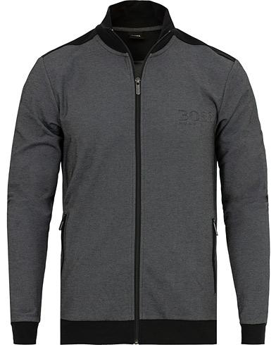 BOSS Track Suit Jacket Black i gruppen Kläder / Tröjor / Zip-tröjor hos Care of Carl (15147711r)