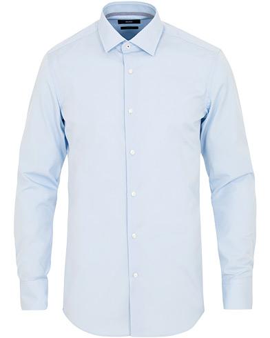 BOSS Jesse Slim Fit Contrast Shirt Light Pastel Blue i gruppen Kläder / Skjortor / Casual / Casual skjortor hos Care of Carl (15153611r)