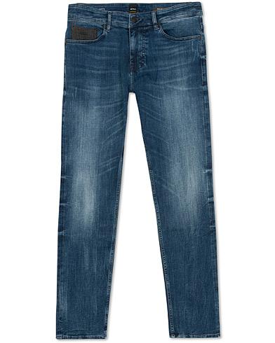 BOSS Casual Delaware Slim Fit Jeans Medium Blue i gruppen Klær / Jeans / Avsmalnende jeans hos Care of Carl (15154511r)