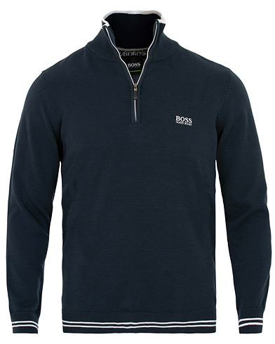 BOSS Athleisure Zimex Half Zip Night Watch i gruppen Kläder / Tröjor / Zip-tröjor hos Care of Carl (15157511r)