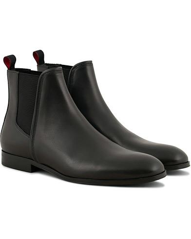 HUGO Boheme Chelsea Boot Black Calf i gruppen Skor / Kängor / Chelsea boots hos Care of Carl (15158411r)