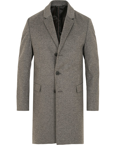 HUGO Migor Wool/Cashmere Coat Grey i gruppen Klær / Jakker / Frakker hos Care of Carl (15159211r)