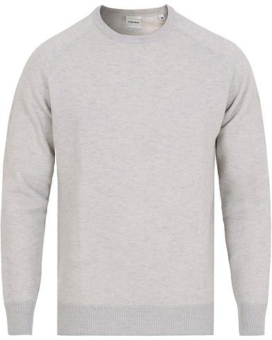 Aspesi Crew Neck Wool Sweatshirt Light Grey i gruppen Kläder / Tröjor / Sweatshirts hos Care of Carl (15163211r)