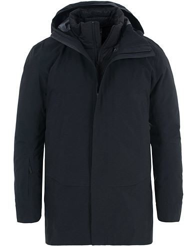 Arc'teryx Veilance Patrol Down Coat Black i gruppen Tøj / Jakker / Parkas hos Care of Carl (15173811r)