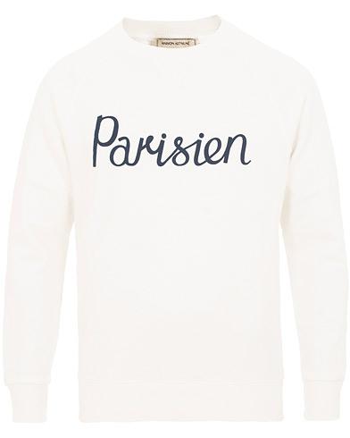 Maison Kitsuné Sweatshirt Parisien Latte i gruppen Kläder / Tröjor / Sweatshirts hos Care of Carl (15198811r)