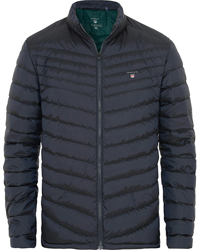GANT The Airlight Down Jacket Navy i gruppen Klær / Jakker / Vatterte jakker hos Care of Carl (15203011r)