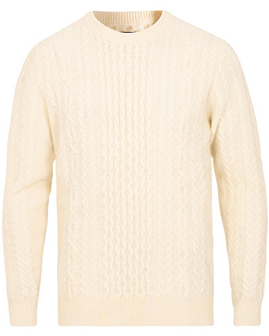 GANT Love Aren Crew Neck Cream i gruppen Klær / Gensere hos Care of Carl (15205611r)