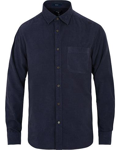 GANT Corduroy Town Shirt Persian Blue i gruppen Klær / Skjorter / Casual / Casual skjorter hos Care of Carl (15212311r)