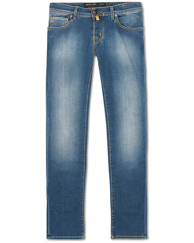 Jacob Cohën 622 Slim Fit Jeans Light Blue i gruppen Klær / Jeans / Smale jeans hos Care of Carl (15219011r)