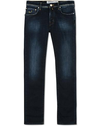 Jacob Cohën 688 Slim Fit Jeans Dark Blue i gruppen Kläder / Jeans / Smala jeans hos Care of Carl (15219411r)