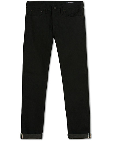 The Workers Club Slim Fit Jeans Raw Black Selvedge i gruppen Klær / Jeans / Smale jeans hos Care of Carl (15227311r)
