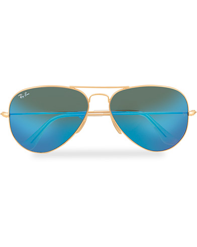 Ray-Ban 0RB3025 Sunglasses Mirror Blue  i gruppen Assesoarer / Solbriller / Pilotsolbriller hos Care of Carl (15236010)