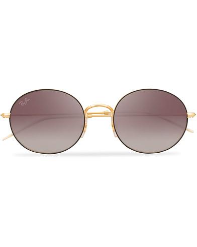Ray-Ban 0RB3594 Sunglasses Grey Mirror Red  i gruppen Assesoarer / Solbriller / Runde solbriller hos Care of Carl (15236510)