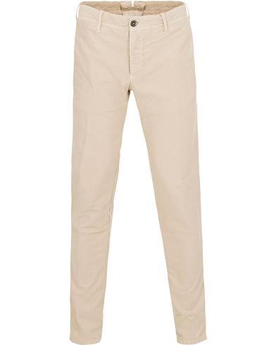 Incotex Slim Fit Garment Dyed Washed Slacks Kit i gruppen Kläder / Byxor / Chinos hos Care of Carl (15247111r)