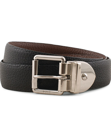Polo Ralph Lauren Reversible Leather Dress Belt Black/Brown i gruppen Assesoarer / Belter / Umønstrede belter hos Care of Carl (15268611r)