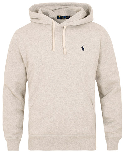 Polo Ralph Lauren Pullover Hoodie Light Sport Heather i gruppen Klær / Gensere / Hettegensere hos Care of Carl (15275011r)