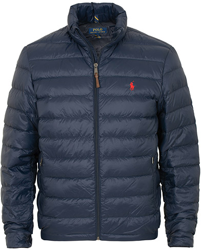 Polo Ralph Lauren Lightweight Jacket Aviator Navy i gruppen Tøj / Jakker / Dunjakker hos Care of Carl (15279011r)