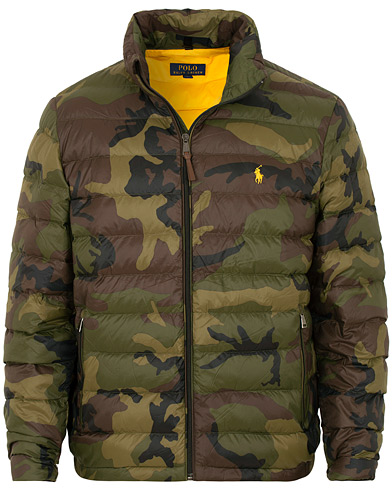 Polo Ralph Lauren Lightweight Jacket Camo i gruppen Klær / Jakker / Dunjakker hos Care of Carl (15279111r)
