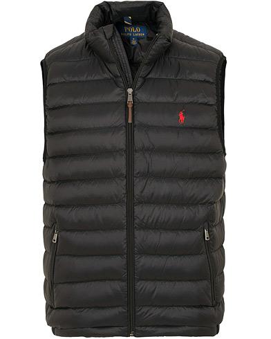 Polo Ralph Lauren Lightweight Vest Black i gruppen Kläder / Västar hos Care of Carl (15279211r)